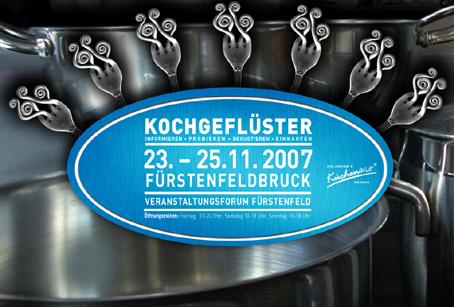 Kochgeflüster vom 23.11. – 25.11.2007 im Kloster Fürstenfeldbruck