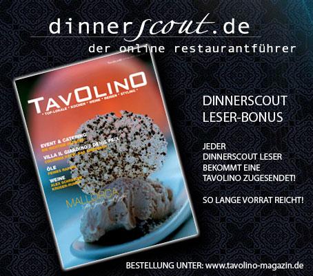 TAVOLINO MAGAZIN Dinnerscout