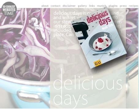 delicious days Buch