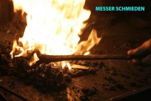 Messer Schmieden in der Kursschmiede München