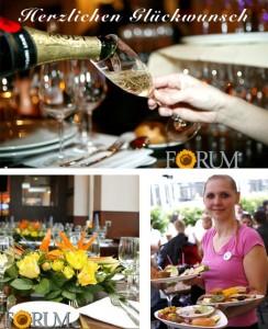 "Das FORUM Café.Bar.Restaurant wird ""volljährig"""