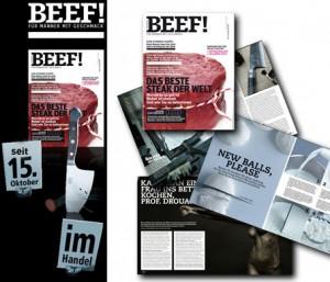 """""""Beef"""" Food-Magazin für Männer"""