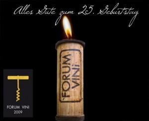 Forum Vini: Weinmesse feiert 25.Geburtstag