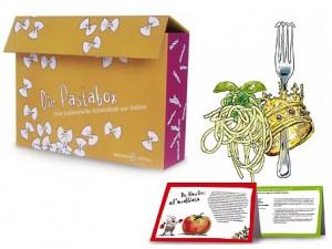 Die Pasta Box, Rezeptkarten