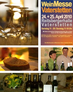 Weingourmetmesse in Vaterstetten/Reitsbergerhalle