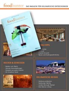 Der foodhunter, Das Magazin für Kulinrarische Entdeckungen