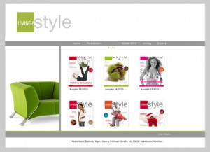 LIVING&style / Hompage online
