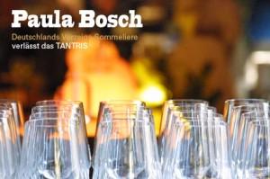 Paula Bosch verlässt das TANTRIS
