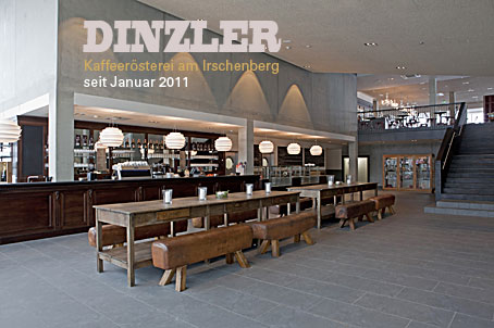 Kaffeerösterei DINZLER jetzt auch am Irschenberg | Dinnerscout
