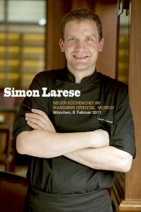 Simon Larese: der Küchenchef des Restaurant Mark's in München