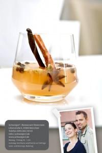 Unser Weihnachtsrezept, Glühwein und Gewürz-Apfel-Cidre von Andi Schweiger