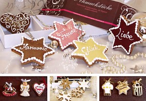 Chocolate from Heaven, besondere Weihnachtsschmuckstücke