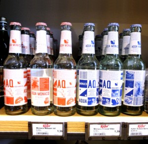 Münchner Wasser in Designerflaschen