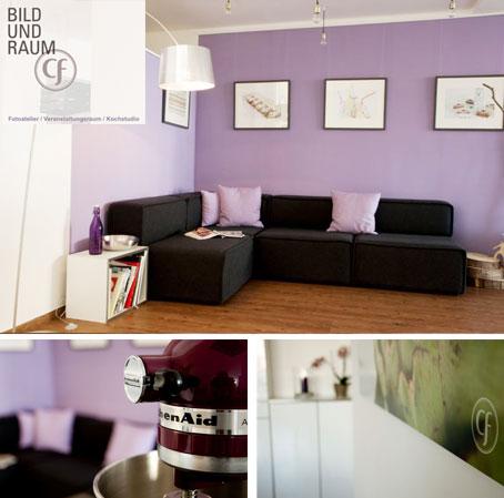 neue mietlocation in m nchen wer wie zuhause feiern m chte dinnerscout. Black Bedroom Furniture Sets. Home Design Ideas
