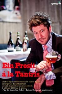Ein Prosit à la Tantris