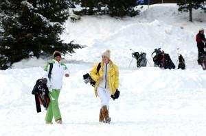 AROSA, Winterliches Golfvergnügen