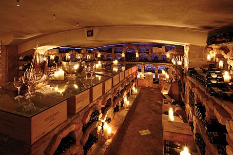 Weinart rarit tenprobe im jagdhof stubaital dinnerscout for Design hotel stubaital