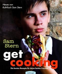 TEENIE-Koch Sam Stern der Jugendstar unter den Köchen