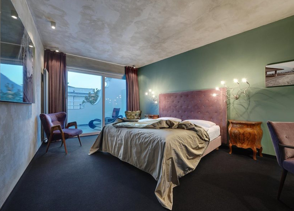 Boutique und design hotel imperialart in meran for Hotel meran design
