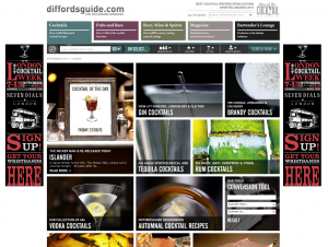 Online Bar, Diffords Guide