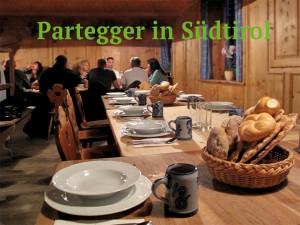 Zum Törggelen beim Partegger in Südtirol