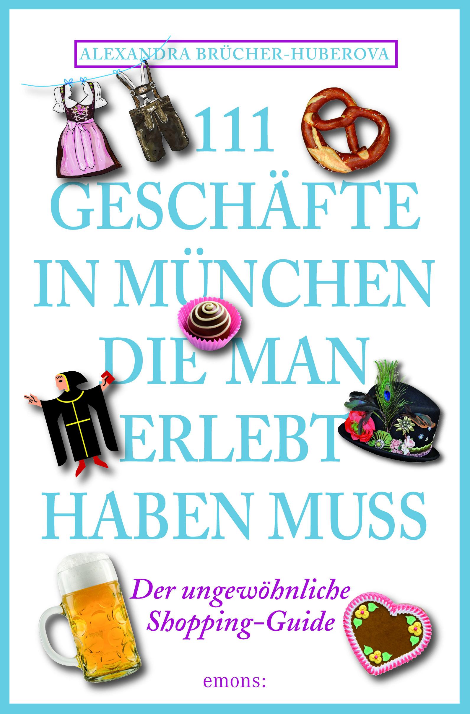Titel des Buches 111 Geschäfte in München