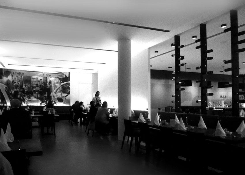 Innenansicht Restaurant Gennaro in München | Dinnerscout