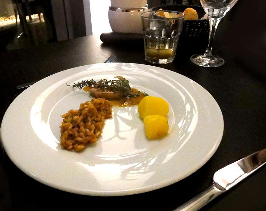 Risotto und Spanferkel | Dinnerscout