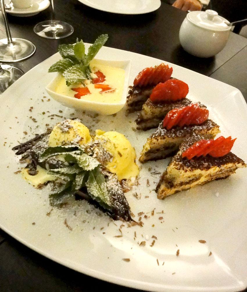 Nachspeiseplatte  | Dinnerscout