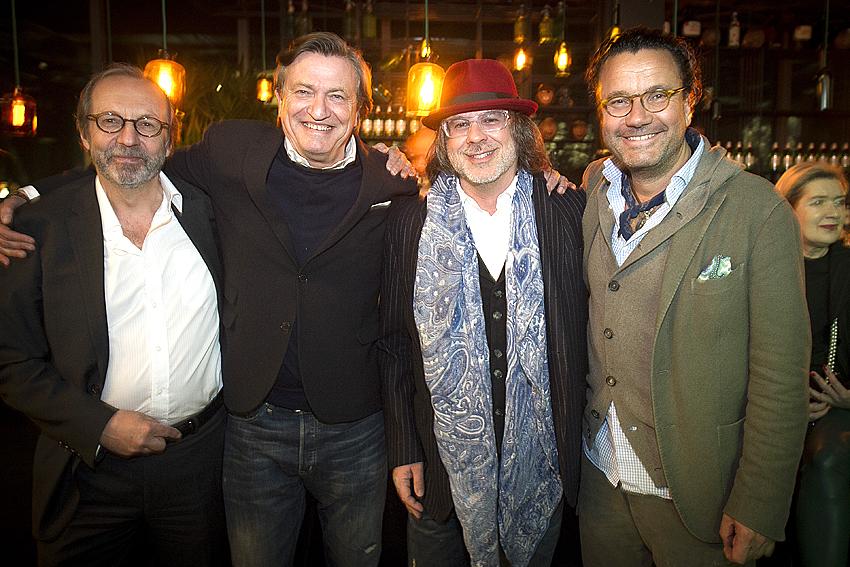 Stephan Gerhard, Kai Hollmann, Ardi Goldman, Christoph Hoffmann