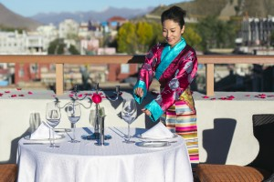 Shangri-La Hotel Lhasa eröffnet am 17. April 2014 im Himalaya
