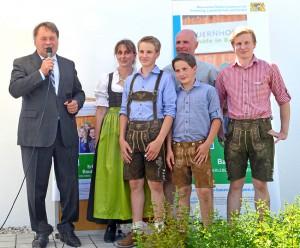 Erlebnisbauernhof Ferlhof, Öko-Landbau hautnah miterleben
