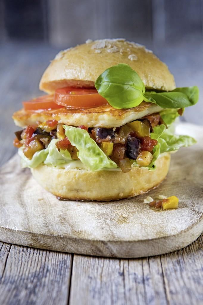Haloumi Burger