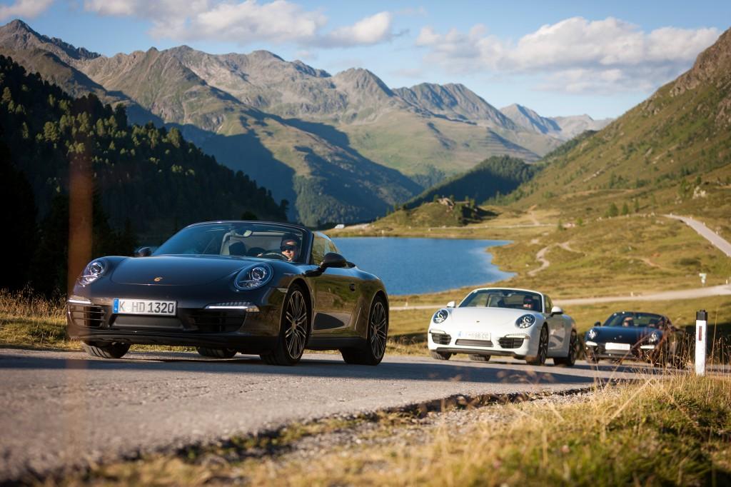 2_Per Porsche direkt vom Hotel über die großen Gebrigsstraßen Osttirols