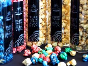 Popcorn in neuen Farben und Geschmacksrichtungen