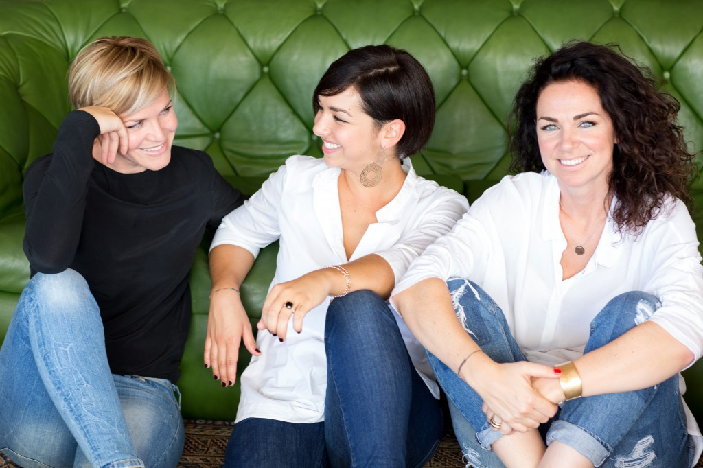 Priska, Anna und Martina Ganthaler - Hotel Muchele