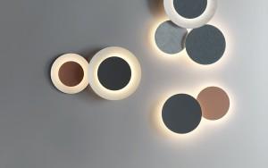 PUCK WALL ART Leuchtelemente von Vibia