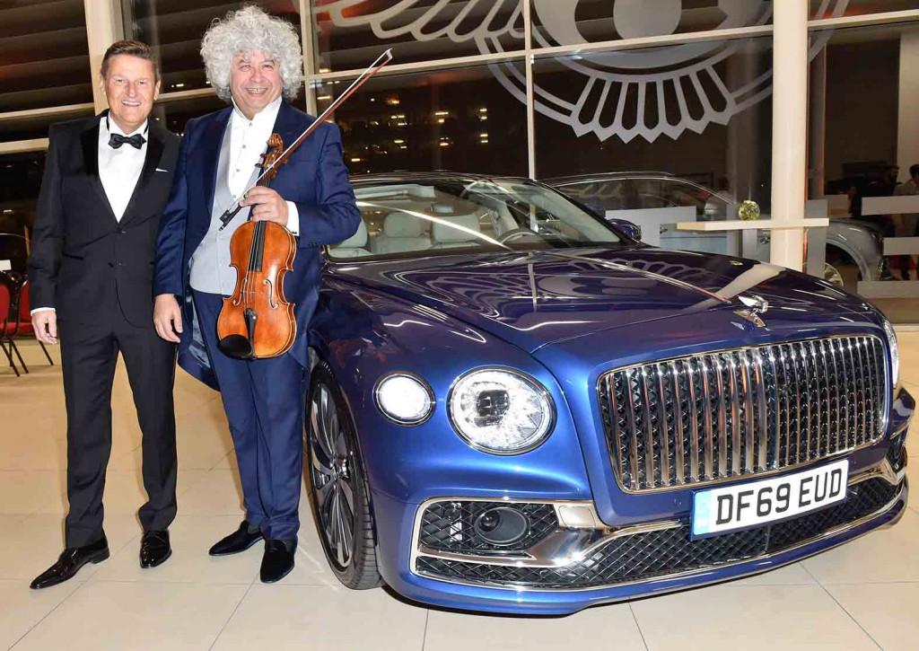 Neujahrskonzert – Kammerorchester der Münchner Philharmoniker unter der Leitung von Lorenz Nasturica-Herschcowici bei Bentley München am 16.01.2020